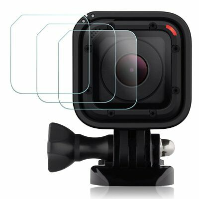 GOPRO Hero 4 Hero5 Session Sport Camera LED Screen Protector Tempered Glass 3X
