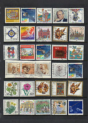 60 attractive used stamps from West Germany - see scans lot two