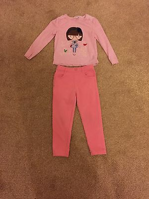 Girls Top And Jeggings Aged 3-4 Years
