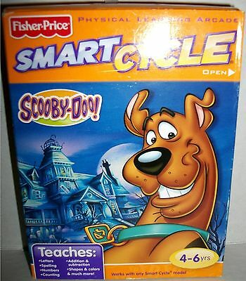 Fisher Price Smart Cycle Scooby Doo Tiki Island Learning Arcade Game MIB Shaggy