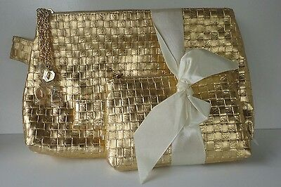 Vintage Gold Purse and Clutch