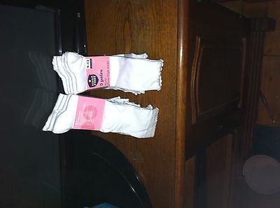 Girls  School Cotton Lace Socks Frilly Lace Ankle Socks