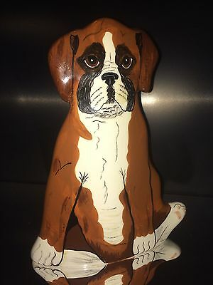 Dogs By Nina Nina Lyman Hand Painted Dog Boxer