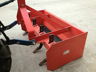 New 1.2m box grader blade with rippers for tractor, level land or driveways