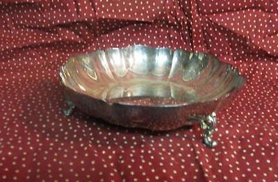 Vintage Rogers Silver Footed Serving Bowl
