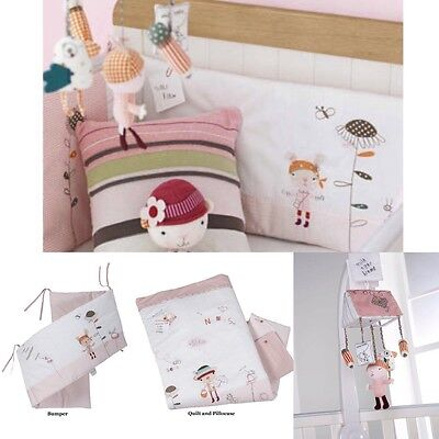 mamas and papas girls  scrapbook bedroom/nursery bundle collection
