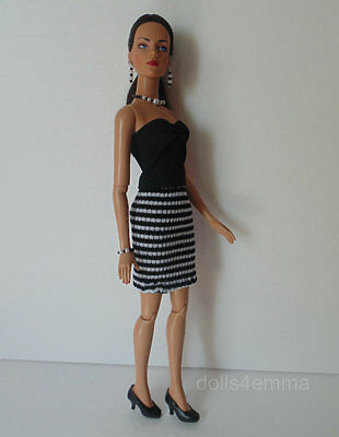 """SIDNEY Tyler Clothes Tonner 16"""" handmade DRESS AND JEWELRY Fashion NO DOLL d4e"""