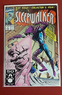 Sleepwalker 1st issue collector's item marvel comic book #1