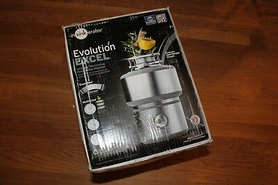 InSinkErator Evolution Excel 1 HP Continuous Feed Garbage Disposal/NEW