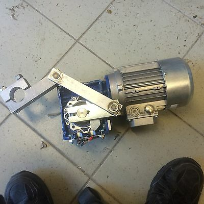 Motovario 0.25kw 3 Phase Motor Geared & Switched Boom Gate Addon