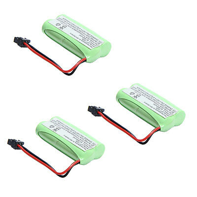 3X 2.4V Phone Battery for Uniden BT-1021 BT-1025 BT-1008 DCX-210 BATT1008 Green