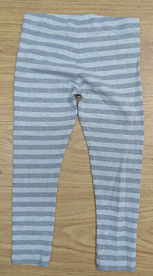 Next Girls Tights Age 3-4 Years Grey