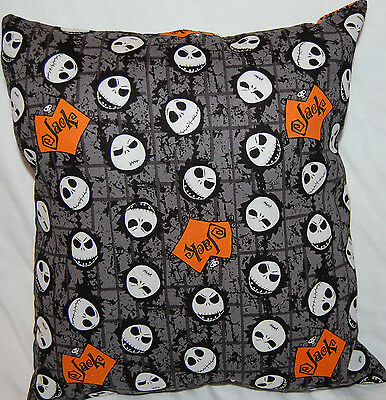 New Handmade Nightmare Before Christmas Many Faces Of  Jack Skellington Pillow