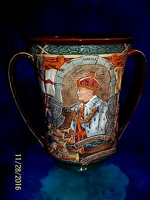 VERY RARE 1936 -37 Royal Doulton Edward VIII Coronation Loving Cup L.E. 944/2000