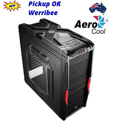 AEROCOOL STRIKE-X COUPE MID ATX GAMING CASE FRONT USB 3.0, 3x 120MM FAN & FT LED