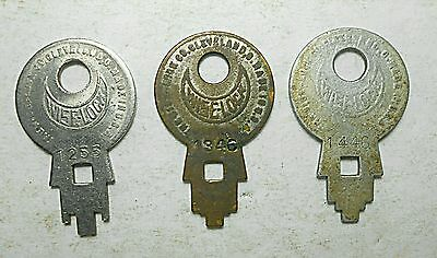 3 Wiselock Concentric Tube Lock Patented Serial Numbers Steampunk Arts Crafts