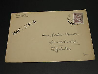 Argentina 1940s? cover to Switzerland *4135