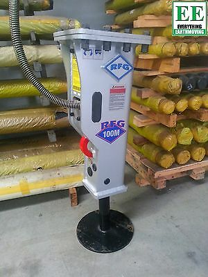 RFG 100M Silenced Rock Breaker for Mini Excavators 0.8 - 2.5 tonne