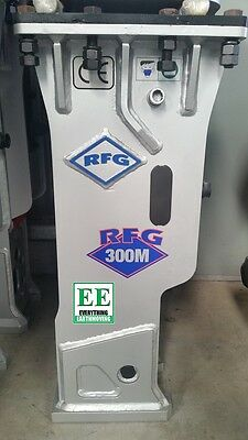 RFG 300M Silenced Rock Breaker for Mini Excavators 2 - 4.5 tonne