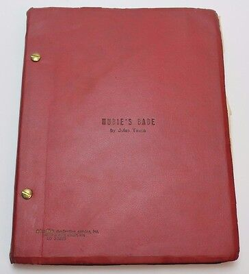 Hubie's Babe * 1975 Unmade Comedy Movie Script REJECTED by Centaur Films Company