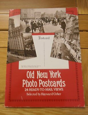 Old New York - 24 Vintage Photo Cards In Paperback Book