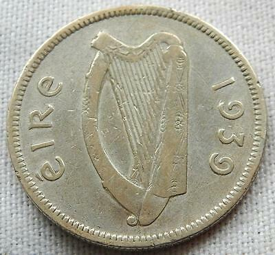 Ireland, 1939, Silver One Shilling Coin