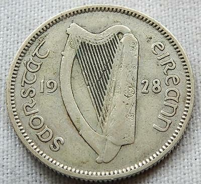 Ireland, 1928, Silver One Shilling Coin