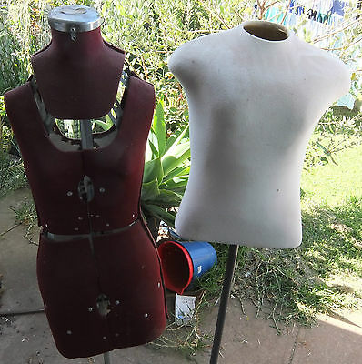 ESE Jane Dressmakers Variable Garment Makers Dummy and Male Torso