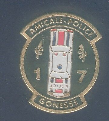 pin's police gonesse