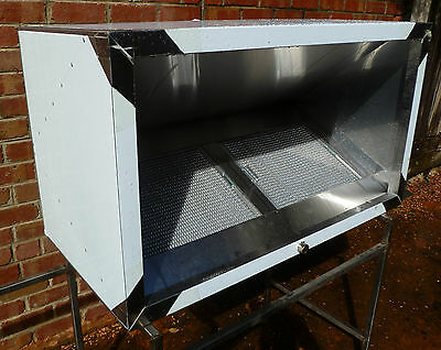 New Commercial/Industrial Stainless Steel Cooking Exhaust Canopy 1200mm x 700mm