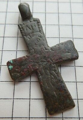 Viking period  cross psevdo enkolpion 900-1300 AD VF++
