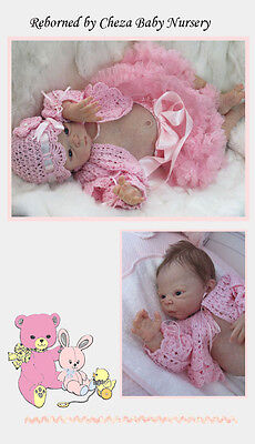 Sammie. Stoete  Doll Kit To Make A Reborn Baby
