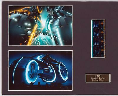 Tron Legacy Film Cell Display Limited Edition