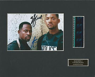 Bad Boys 2 Film Cell Display Limited Edition Extremely Rare