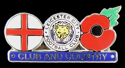 Leicester City Club And Country  Enamel Pin Badge