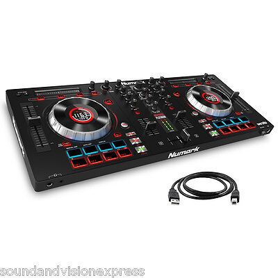 Numark Mixtrack Platinum 2ch Mixer MP3 Controller + Serato + Prime Loops Effects