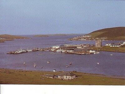 Post Card,shetland,scalloway With Its Castle(Built 1600)