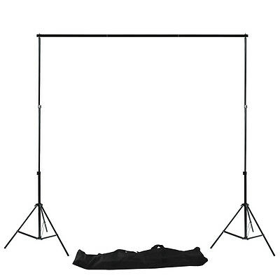 Photo Studio Heavy Duty Adjustable Background Stand Backdrop Support Stands Kit