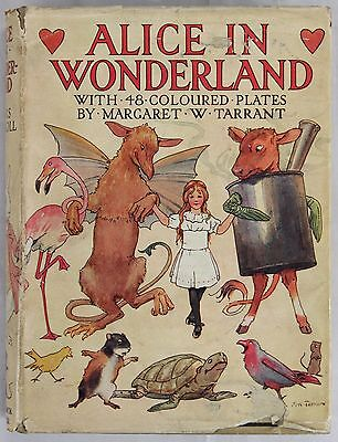 Carrol - Alice in Wonderland - 48 coloured plates by M. Tarrant - anni 20/30