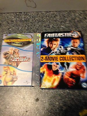 2 DVD Box Sets Small Soldiers/thunderbirds/dinosaurs Fantastic Four .
