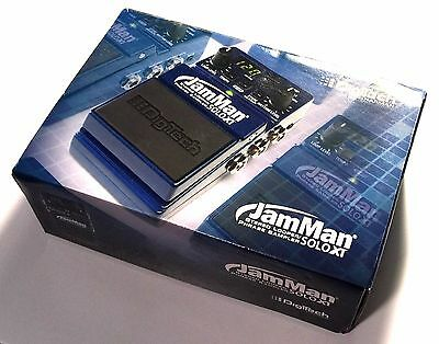 Digitech JamMan Solo XT Effects Stereo Looping FX Pedal with FS3X Footswitch