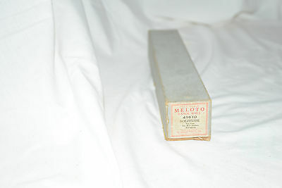 Antique Pianola, Player Piano Roll: Solitude (Meloto)