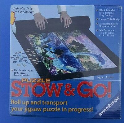 Ravensburger Stow and Go Puzzle Jigsaw Puzzle Mat 46 x 26 New