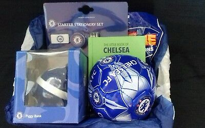 Mens/boys Chelsea  football hamper gift basket