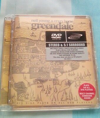 Neil Young Greendale Stereo & 5.1 Surround DVD Audio Disc