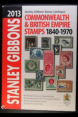 Stanley Gibbons 2013 Commonwealth & British Empire Stamps 1840-1970 Catalogue