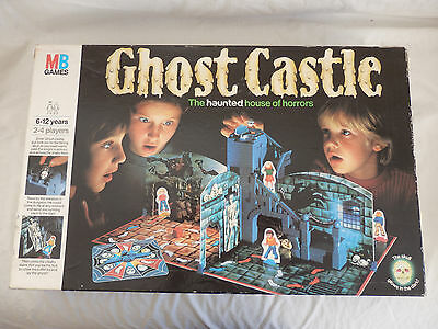 MB Games Ghost Castle Board Game Complete VGC 1985