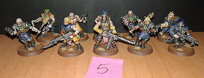 10 cultistas del caos marines  pro painted warhammer 40.000