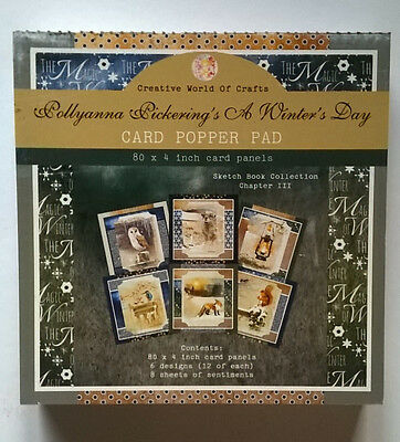 Pollyanna Pickering A winters Day Popper Pad 4 inch  Creative Crafting World