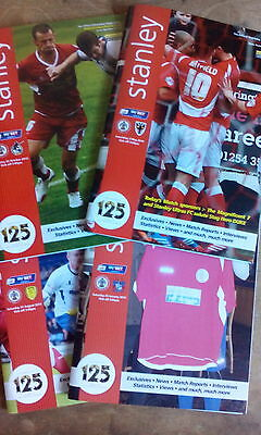 Accrington Stanley v Morecambe (Abandoned Match) 2013/4, League Two